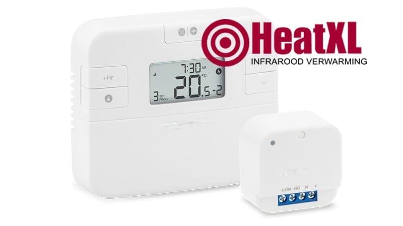Thermostaat met wifi inbouw thermostaat