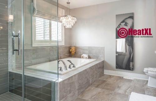 Badkamer handdoekdroger verwarming